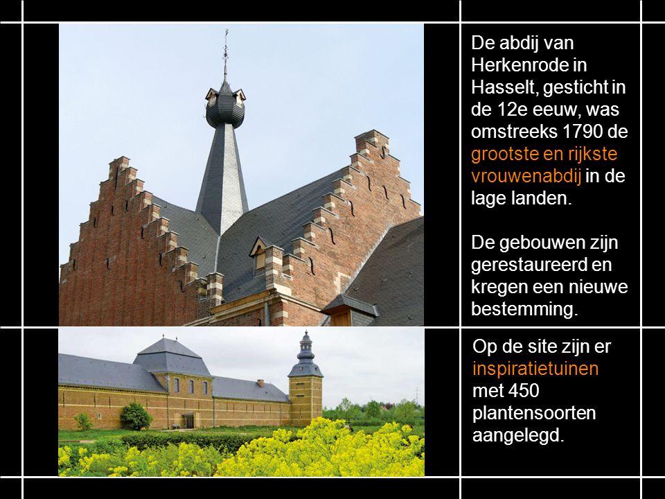De abdij van Herkenrode in Hasselt, gesticht in de 12e eeuw, was omstreeks 1790 de grootste en rijkste vrouwenabdij in de lage landen.