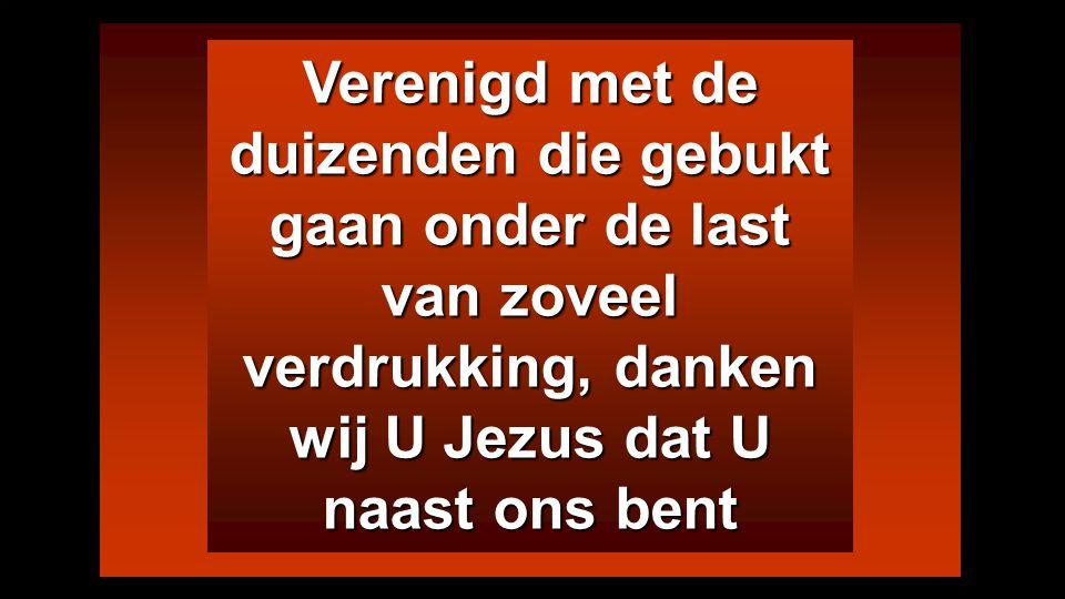 En wij stappen als kinderen naar het gelukkig einde met het zachte juk van Jezus Met Jezus wordt de last licht