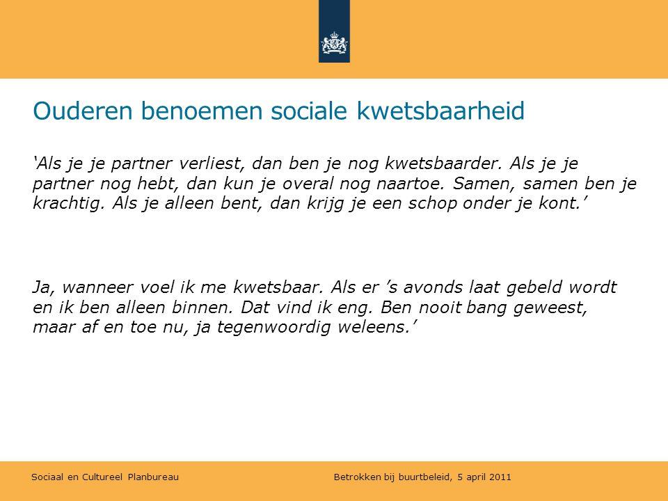 Sociaal en Cultureel Planbureau Conclusies & aanbevelingen 2.