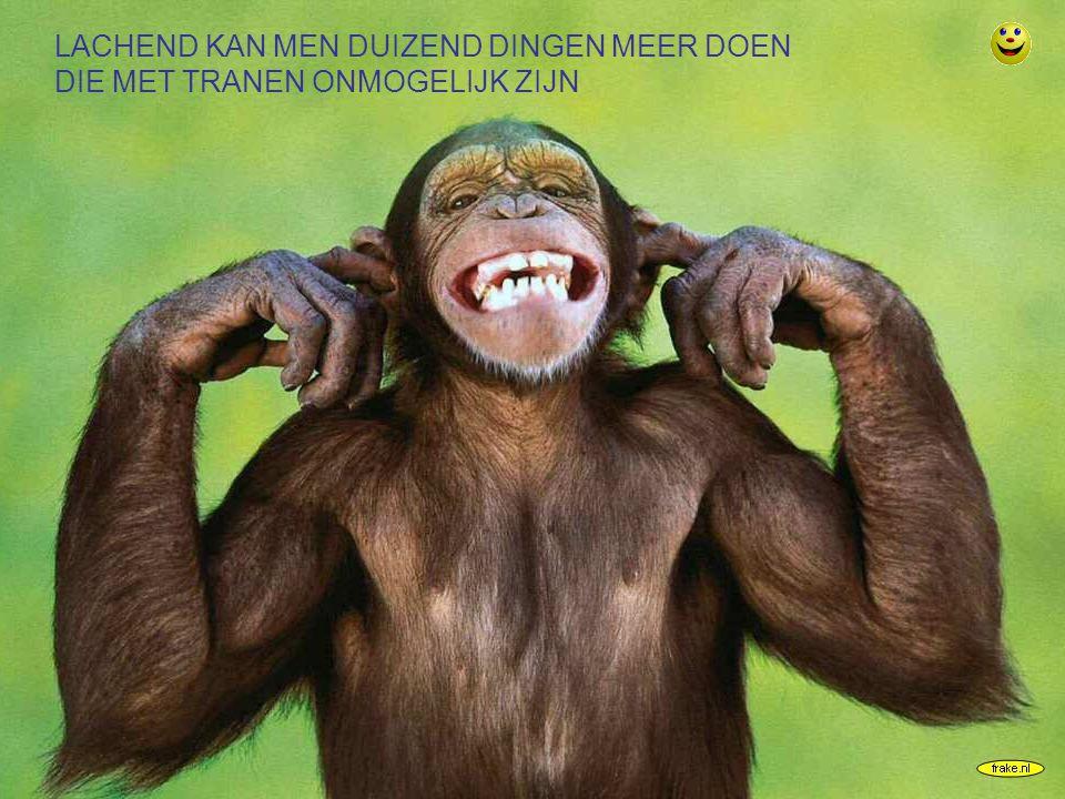 frake.nl LACHEND KAN MEN DUIZEND DINGEN MEER DOEN DIE MET TRANEN ONMOGELIJK ZIJN