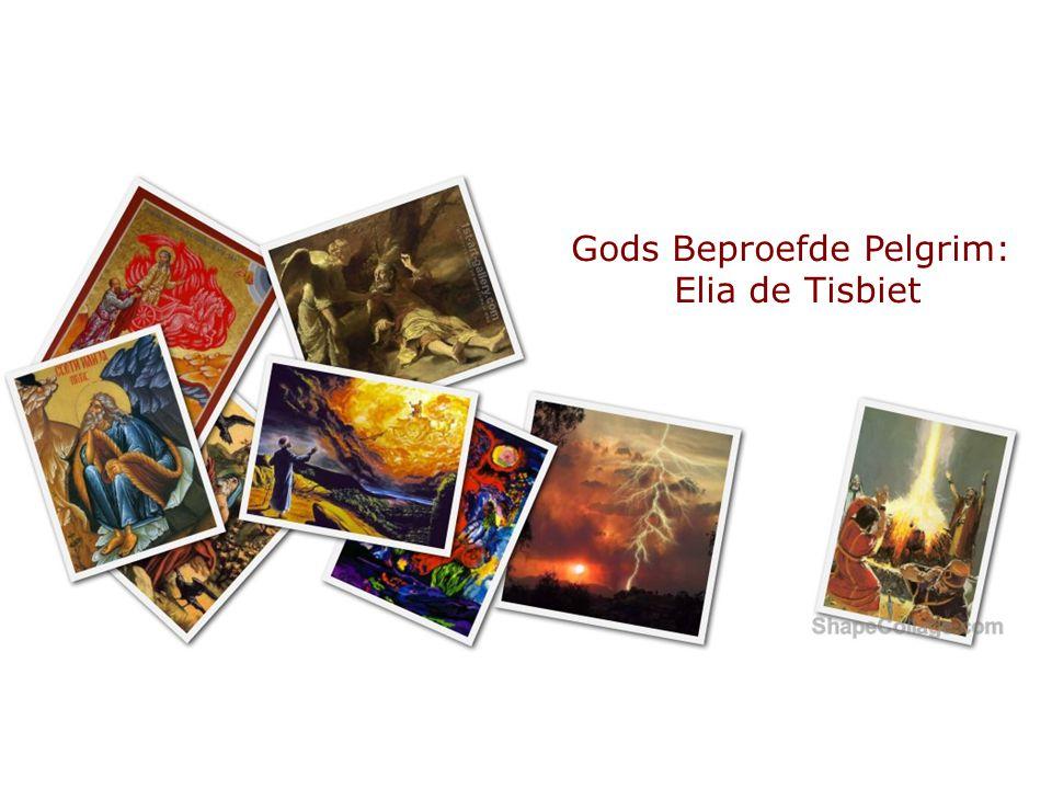 Gods Beproefde Pelgrim: Elia de Tisbiet