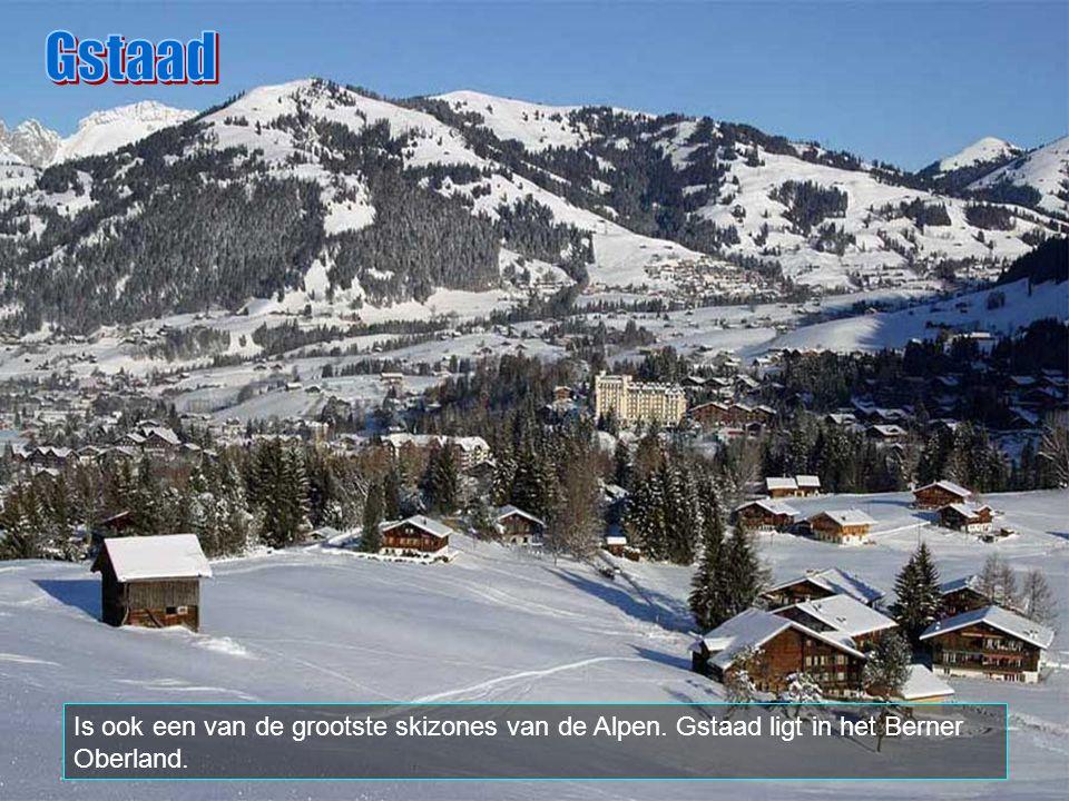Gstaad is een deel van de gemeente Saanen, en gekend als een van de mooiste skioorden van de wereld. Het is ook de plaats van het instituut Le Rosey,