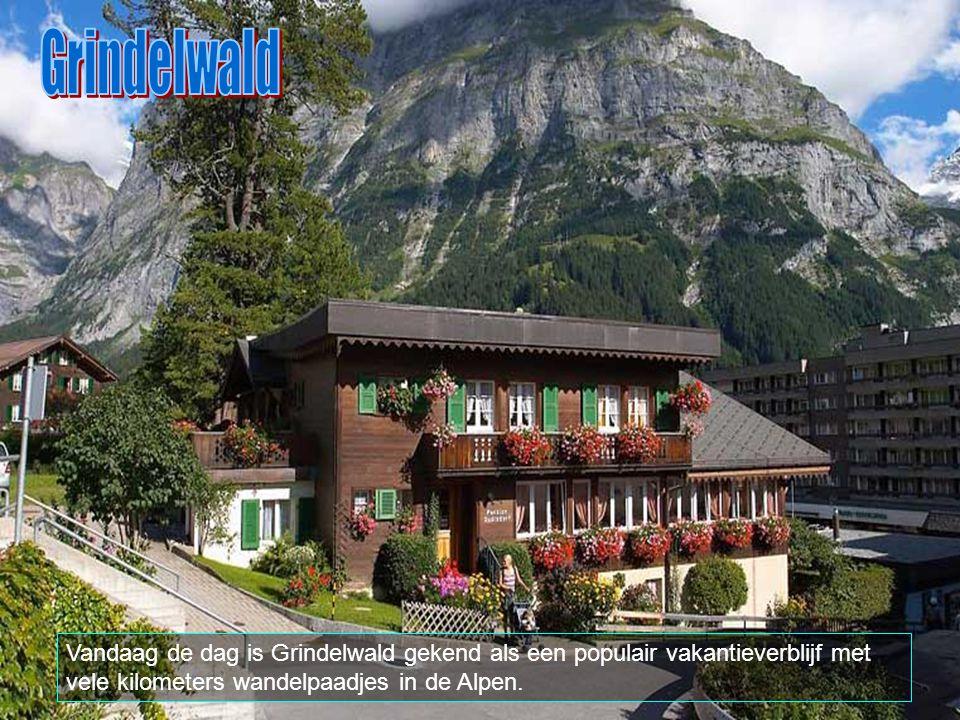Grindelwald is bereikbaar per trein (Berner Oberland Bahn) vanuit Interlaken.