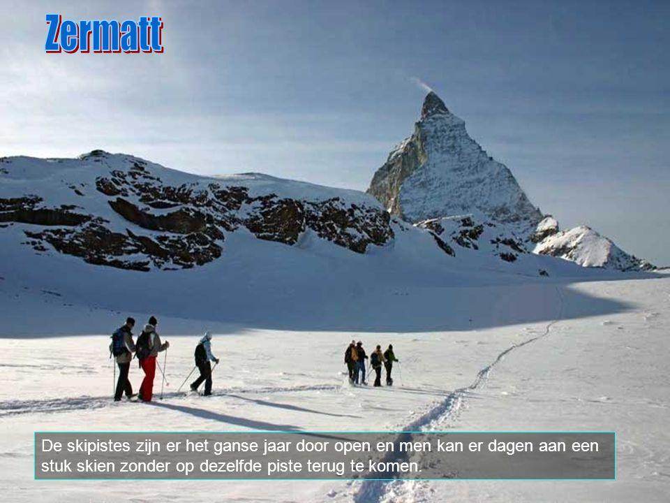 De Matterhorn (Mont Cervin in 't Frans, Cervino in 't italiaans) is waarschijnlijk de bekenste berg van de Zwitserse alpen. Hij ligt op de Zwitsers-It