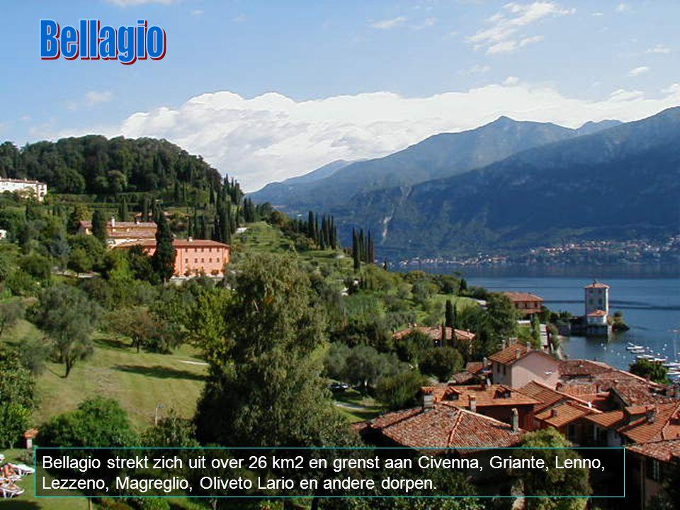 Bellagio ligt in Lombardia, provincie Como, met ongeveer 3000 inwoners. Hier ziet men de poort Aqui. Langs hier gaat men naar de omringende plaatsen,