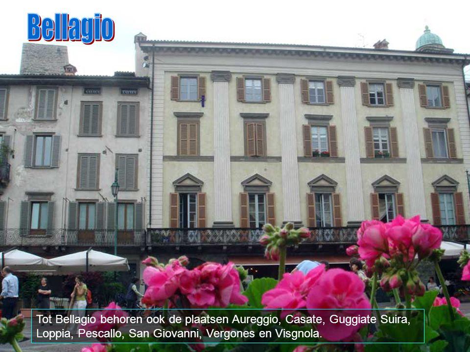 Bellagio strekt zich uit over 26 km2 en grenst aan Civenna, Griante, Lenno, Lezzeno, Magreglio, Oliveto Lario en andere dorpen.