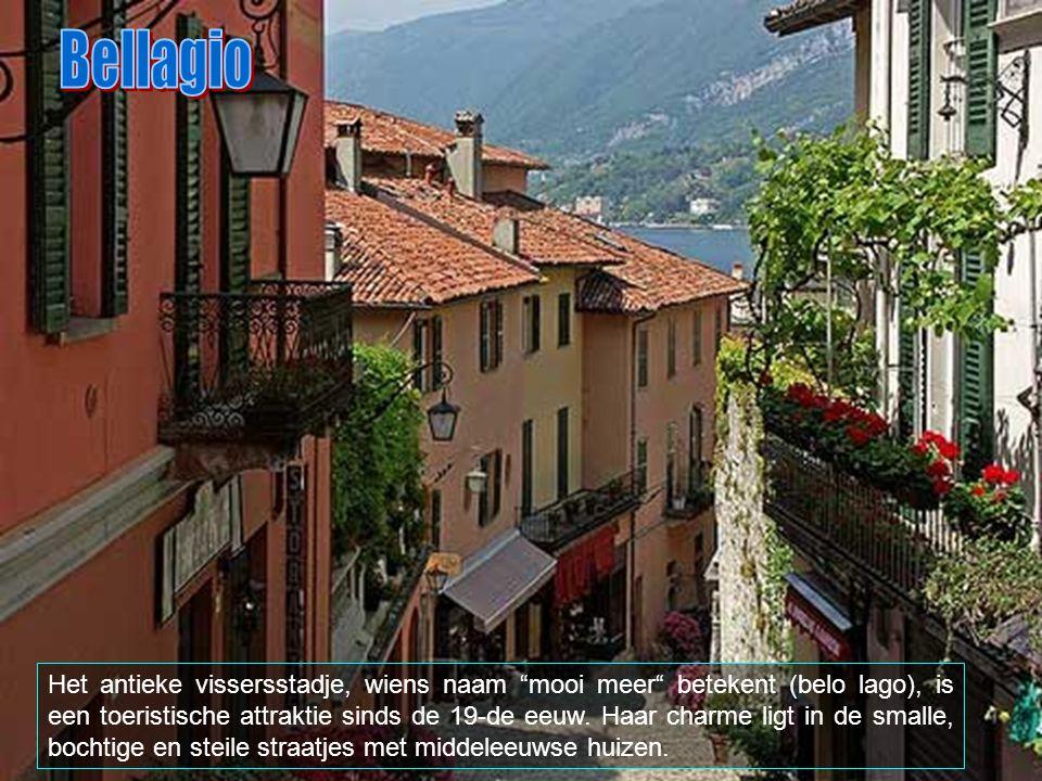 Tot Bellagio behoren ook de plaatsen Aureggio, Casate, Guggiate Suira, Loppia, Pescallo, San Giovanni, Vergones en Visgnola.