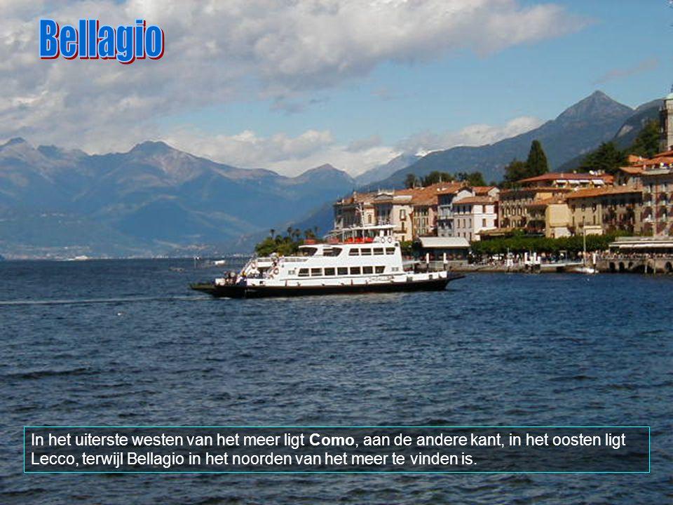 Bellagio ligt aan het mooie Como-meer.