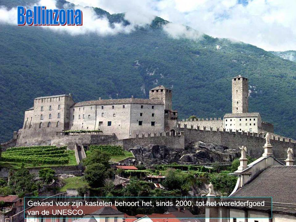 Bellinzona is een Zwitserse gemeente in het kantonTessino, met ongeveer 17.300 inwoners. Het is 19,84 km2 groot en omringd met volgende plaatsen: Arbe