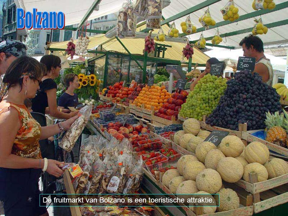 Bolzano is de oudste stad in de Dolomieten. Het bezit een middeleeuws centrum en ligt op het kruispunt van verschillende routes.