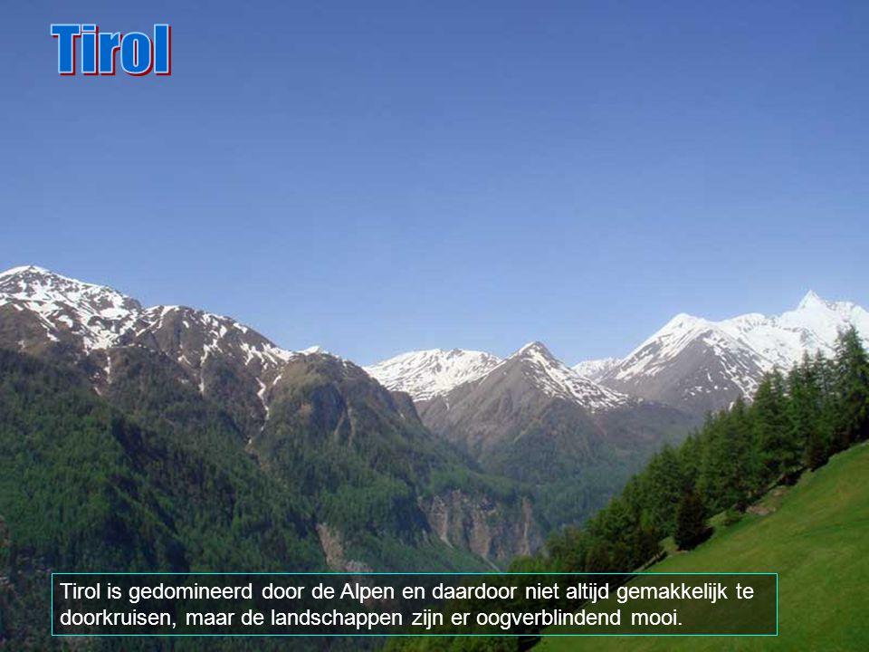 Het kasteel Tirol, in Merano, is de wieg van het huidige Tirol.