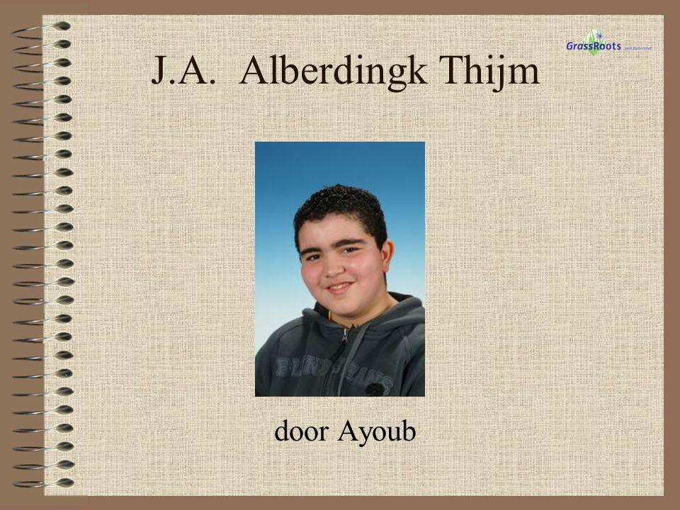 J.A. Alberdingk Thijm door Ayoub