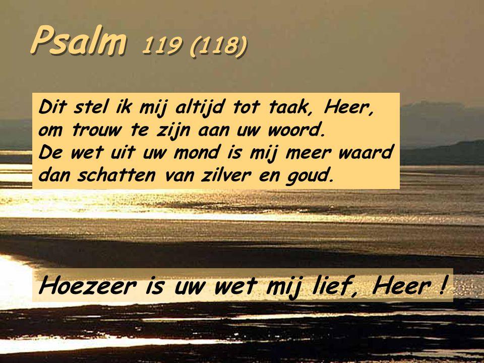 1Kon 3,5.7-12 In die dagen verscheen te Gibeon de Heer 's nachts in een droom aan Salomo en zei: « Wat wilt ge dat Ik u geef? » Salomo antwoordde: « H