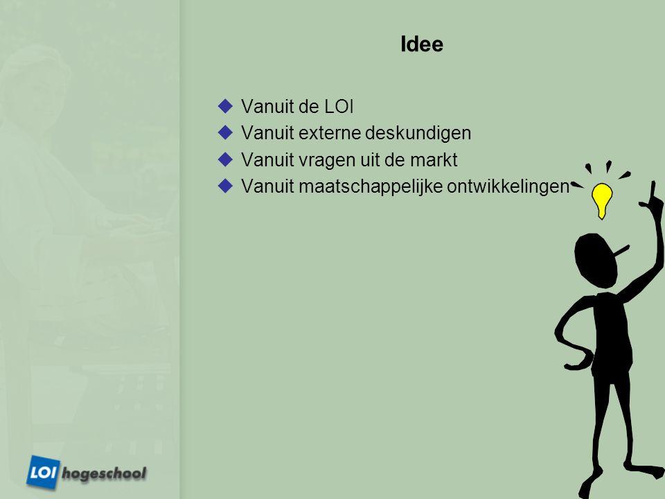 Inhoud  LOI Algemeen  Ontwikkeling lesmateriaal  Ontwikkeling examens  Afhandeling van klachten  Stellen van vragen