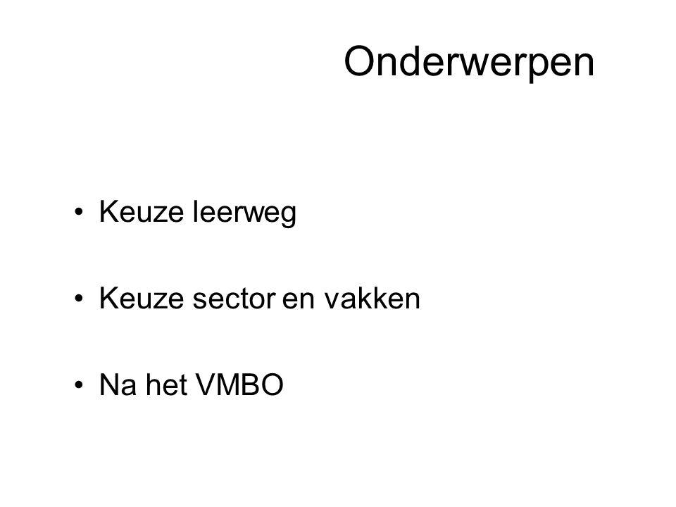 Vierde leerjaar Turbo HAVO MHBO MBO 2 jaar Niv.4 Niv.