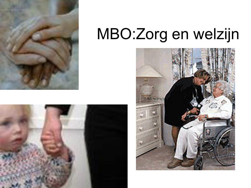 MBO:Zorg en welzijn
