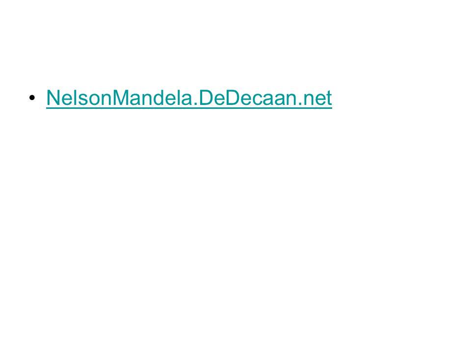 NelsonMandela.DeDecaan.net