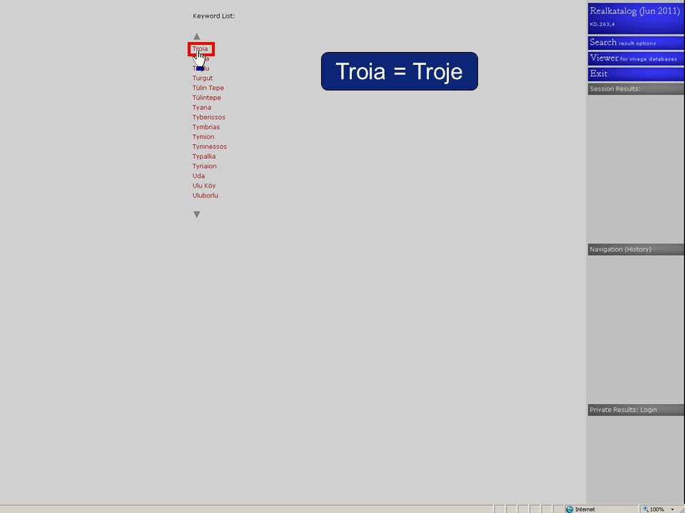 Troia = Troje