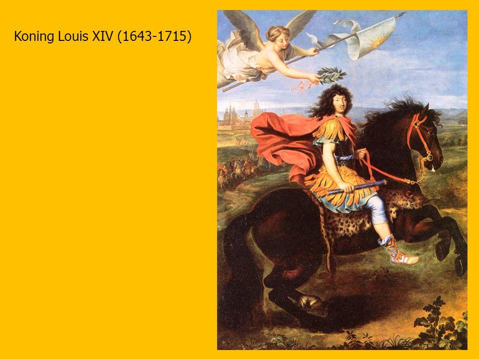 Koning Louis XIV (1643-1715)