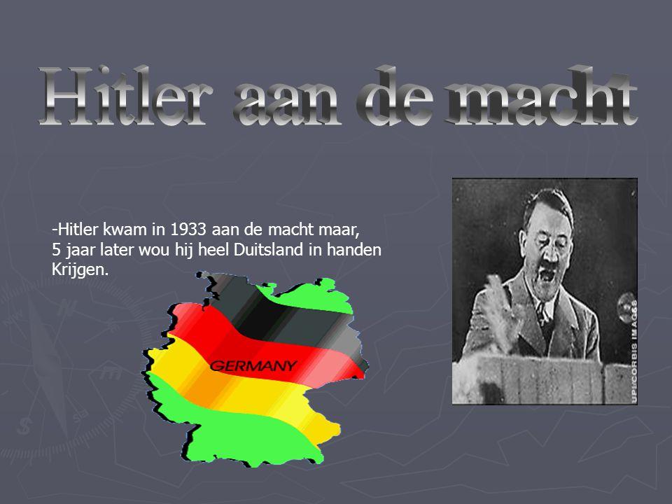 -Adolf Hitler geboren op 20 april 1889 in Braunauam-Inn Oosterijk. -Vader Alios Hitler en de moeder Klara Plozl. -Adolf werd een soort leraar voor de