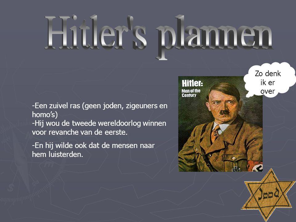-Hitler kwam in 1933 aan de macht maar, 5 jaar later wou hij heel Duitsland in handen Krijgen.