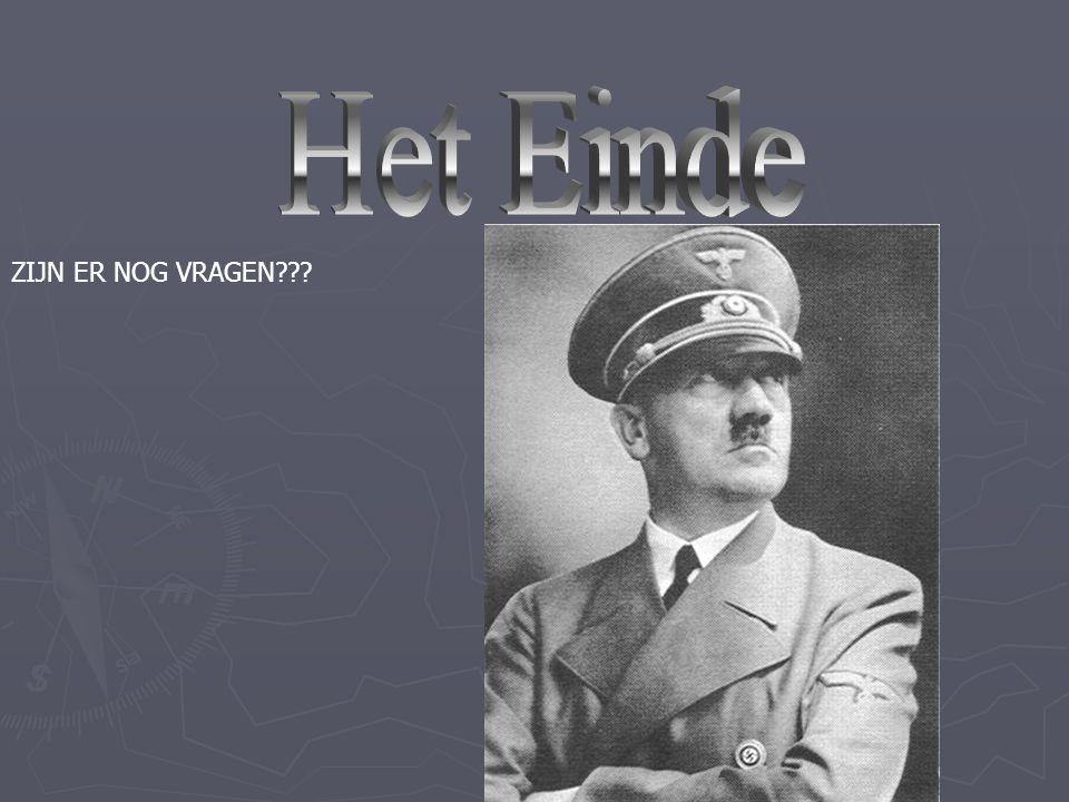 -Hitler heeft zelfmoord gepleegd. Hij heeft zich zelf dood geschoten Eerst zich zelf en toen zijn vrouw en Zes kinderen. Adolf Hitler is in 1945 op 30
