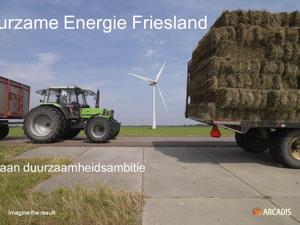 Gemeenschappelijke Duurzame Energie Friesland Renderend invulling geven aan duurzaamheidsambitie Imagine the result