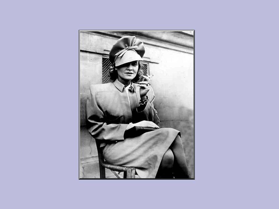 Vanaf 1944, was ze aanwezig op de frontlinie.