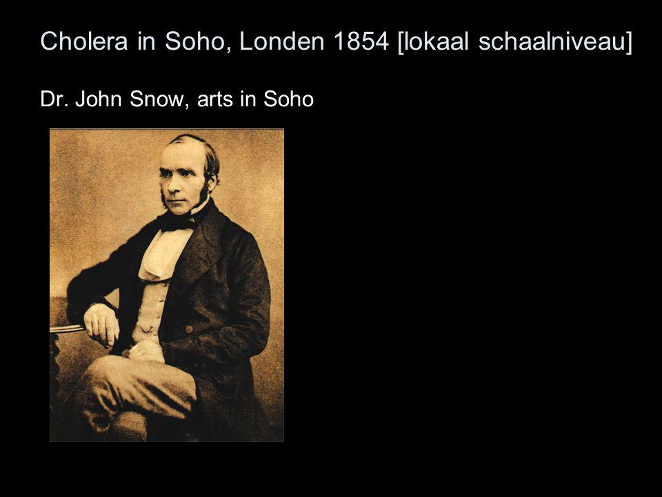 Dr. John Snow, arts in Soho