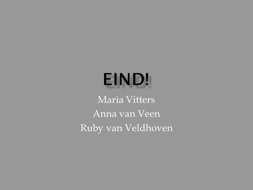 Maria Vitters Anna van Veen Ruby van Veldhoven