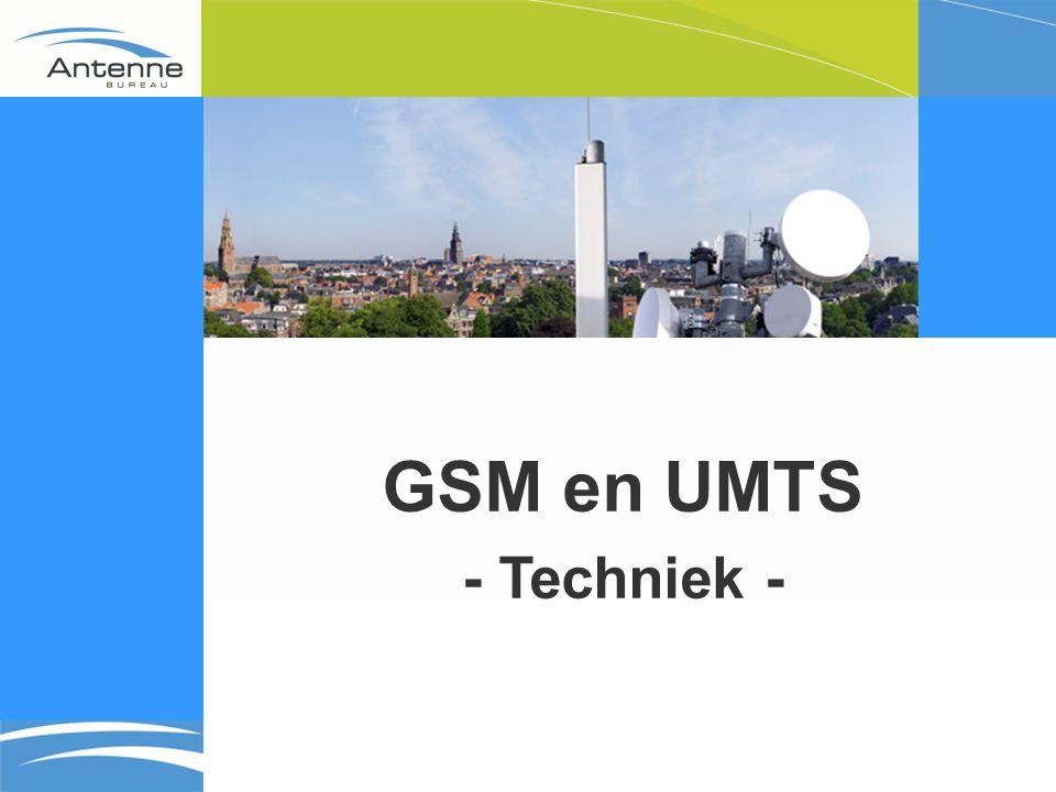 GSM en UMTS - Techniek -