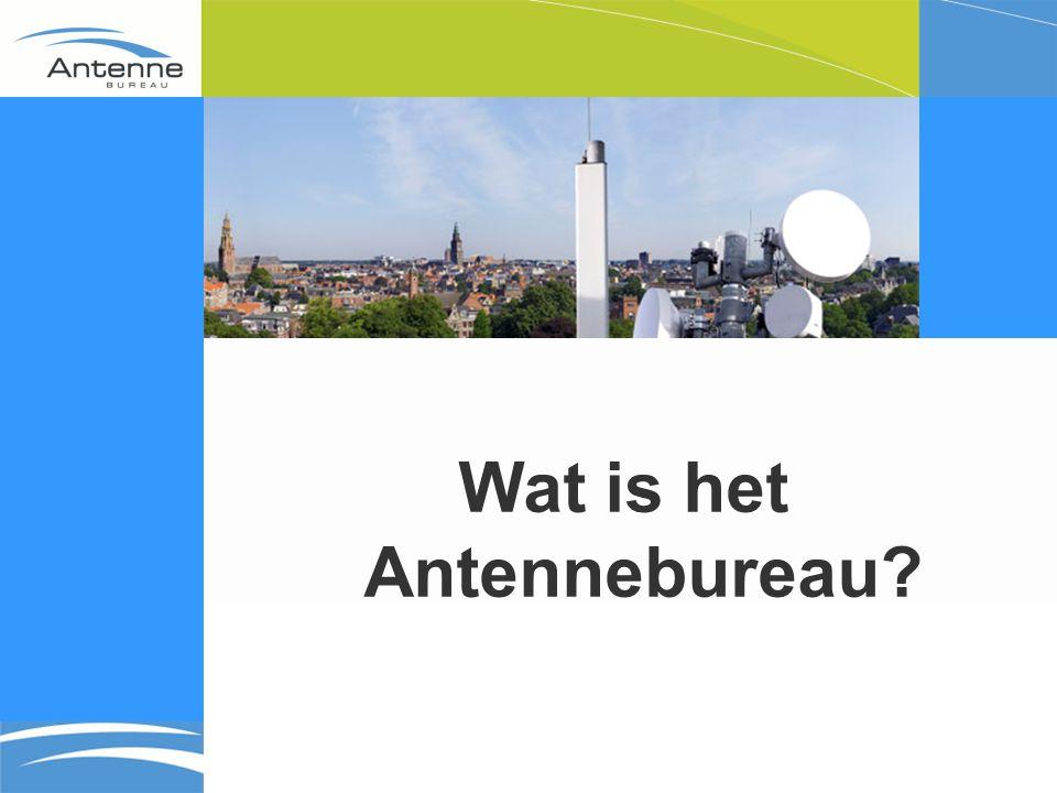 Wat is het Antennebureau