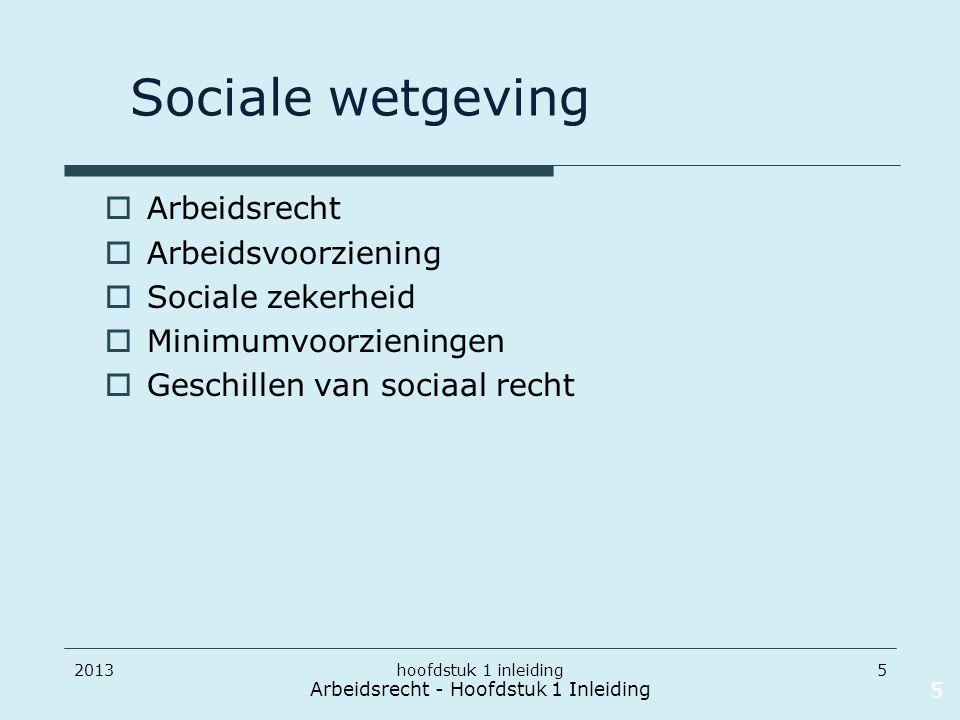 20135 Sociale wetgeving  Arbeidsrecht  Arbeidsvoorziening  Sociale zekerheid  Minimumvoorzieningen  Geschillen van sociaal recht Arbeidsrecht - H
