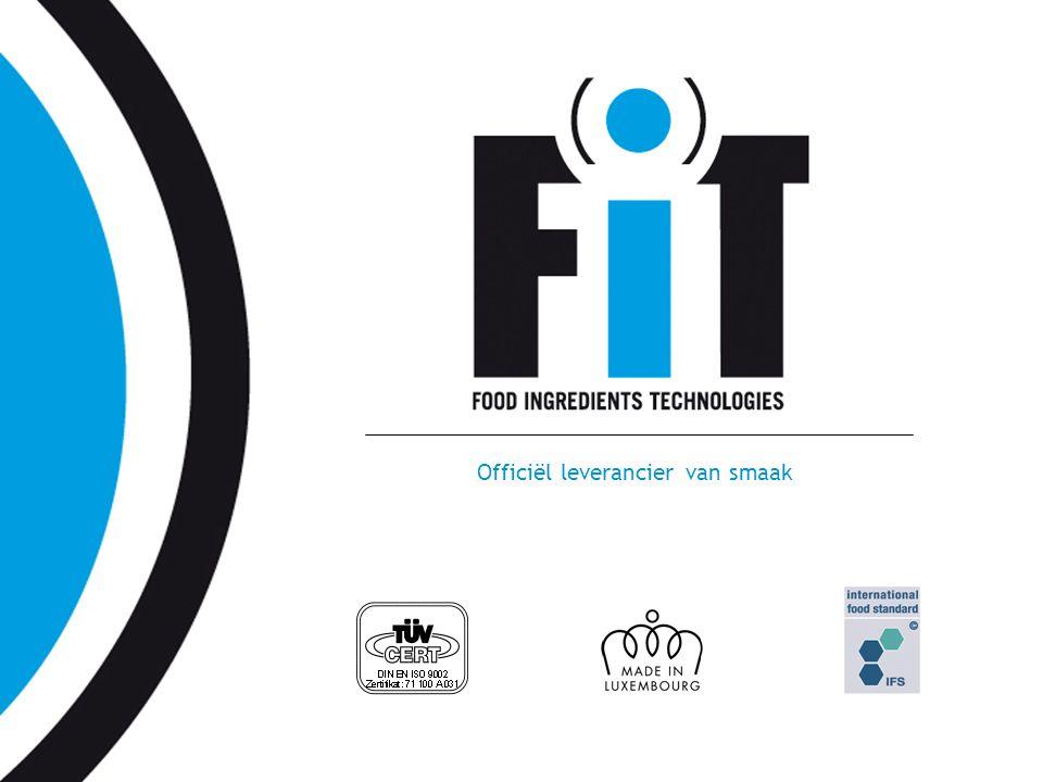 www.fit.lu Officiël leverancier van smaak
