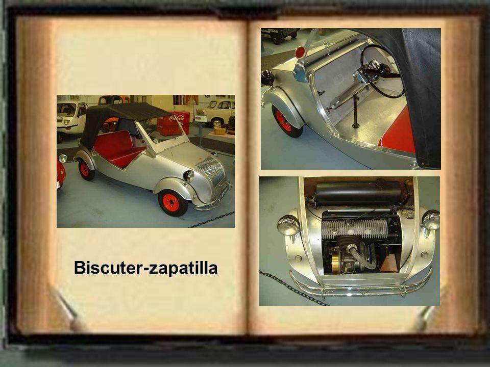 Biscuter-zapatilla