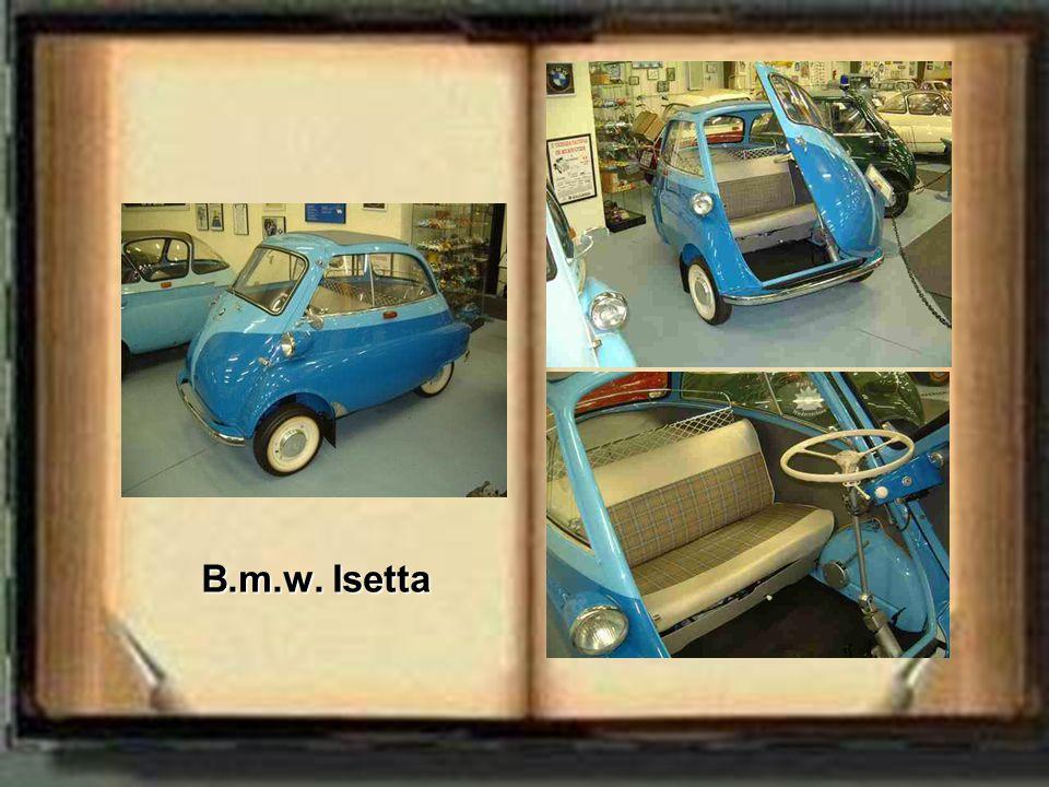 B.m.w. Isetta