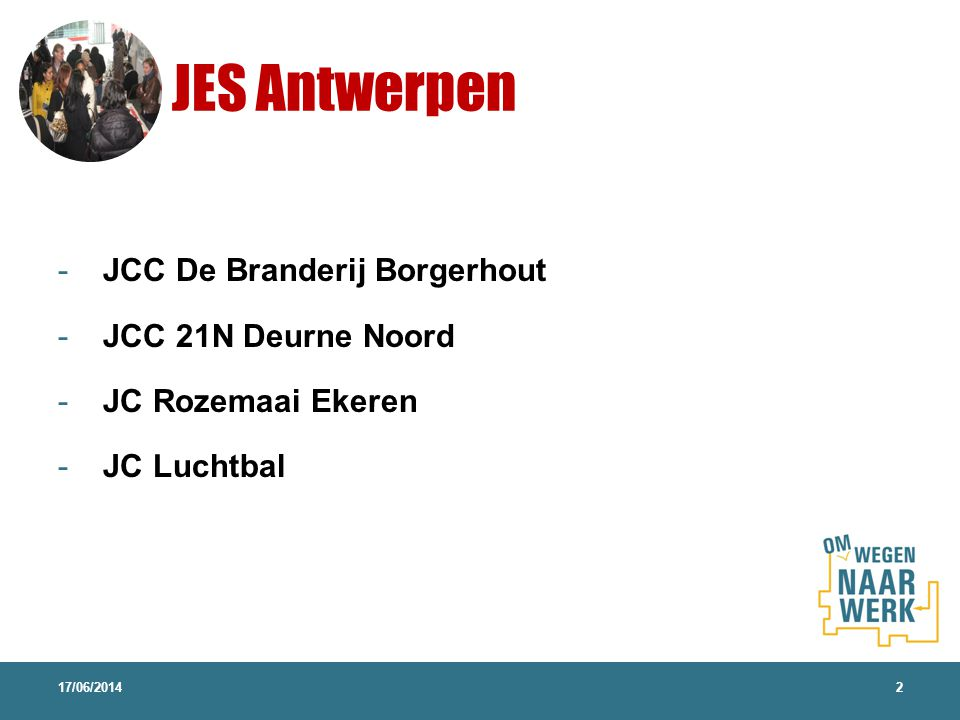 JES Antwerpen 17/06/20142 - JCC De Branderij Borgerhout - JCC 21N Deurne Noord - JC Rozemaai Ekeren - JC Luchtbal