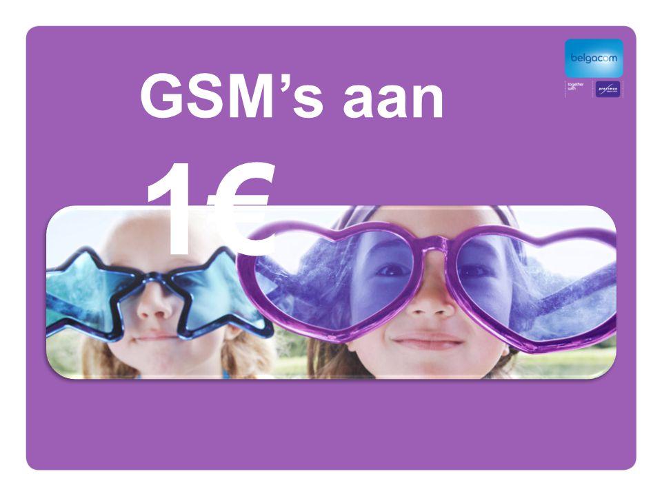 GSM's aan 1€