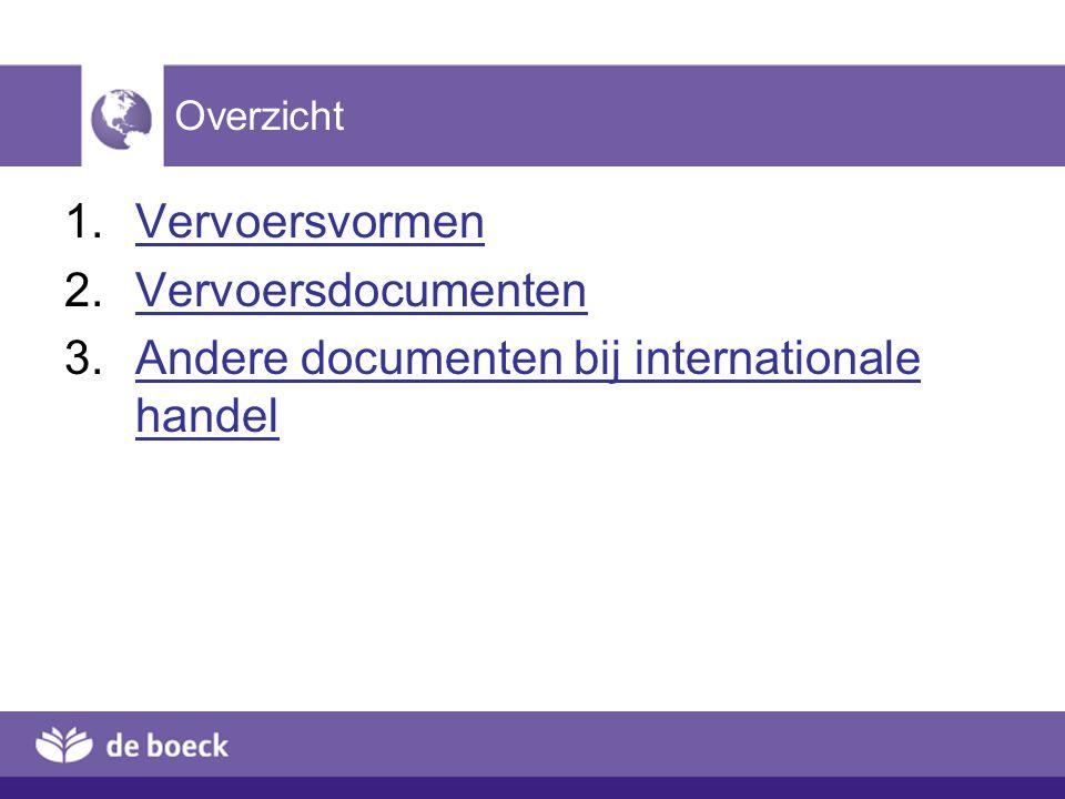3.3 Gewichtscertificaat Document dat uitgegeven wordt – door een leverancier – door een onafhankelijke derde Bruto- en nettogewicht van de goederen Zie illustratie 5.195.19 [terug]terug