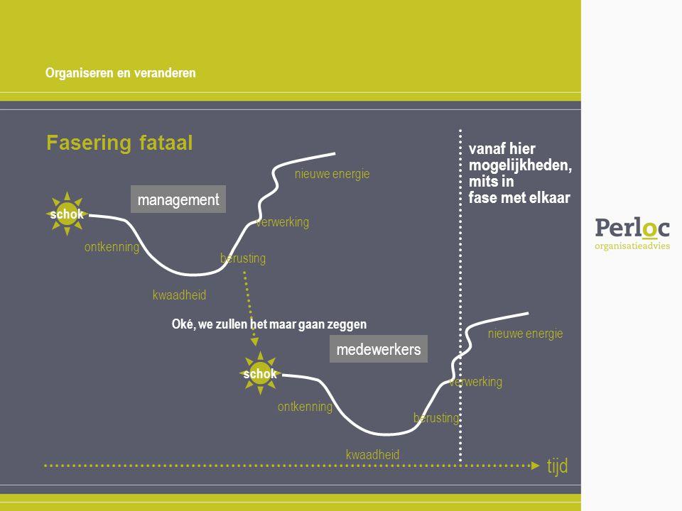 Organiseren en veranderen Fasering fataal schok ontkenning kwaadheid berusting verwerking nieuwe energie schok ontkenning kwaadheid berusting verwerki