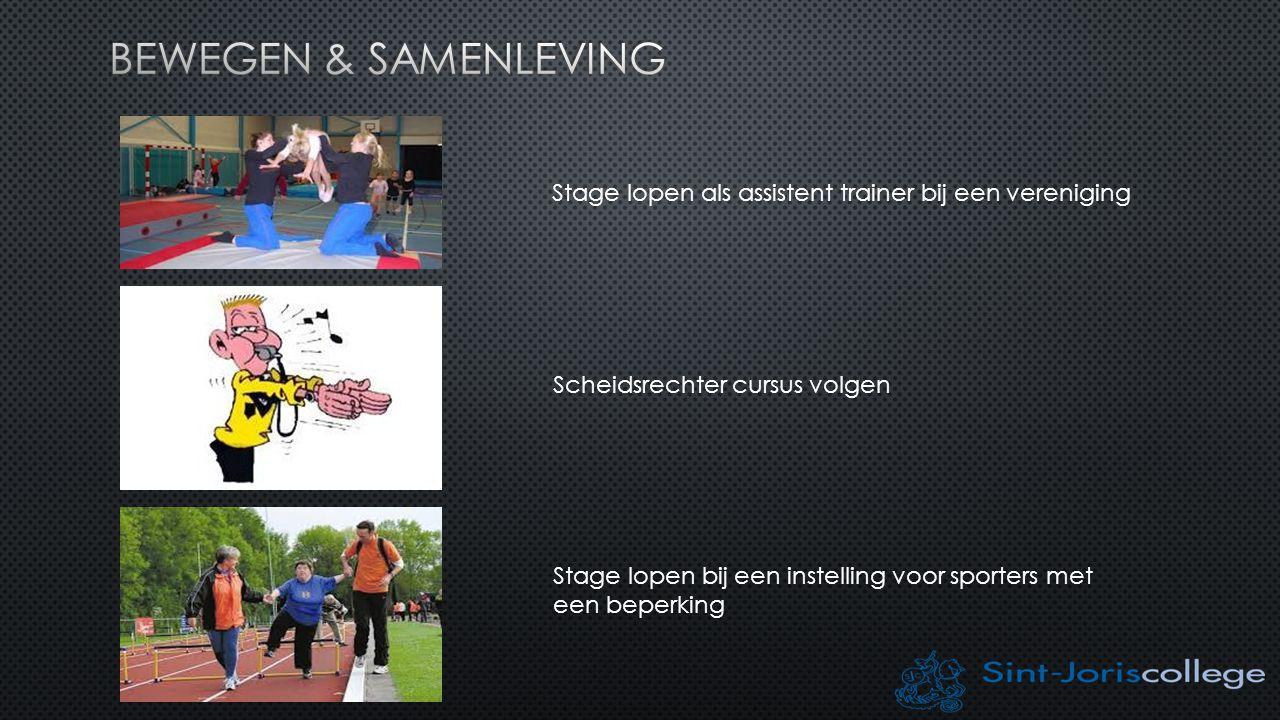 INHOUD VAN DE LESSEN Technieken van de aangeboden sporten LESDOELEN Lesgeven, coachen, organiseren, trainingsleer, ehb(s)o, etc.