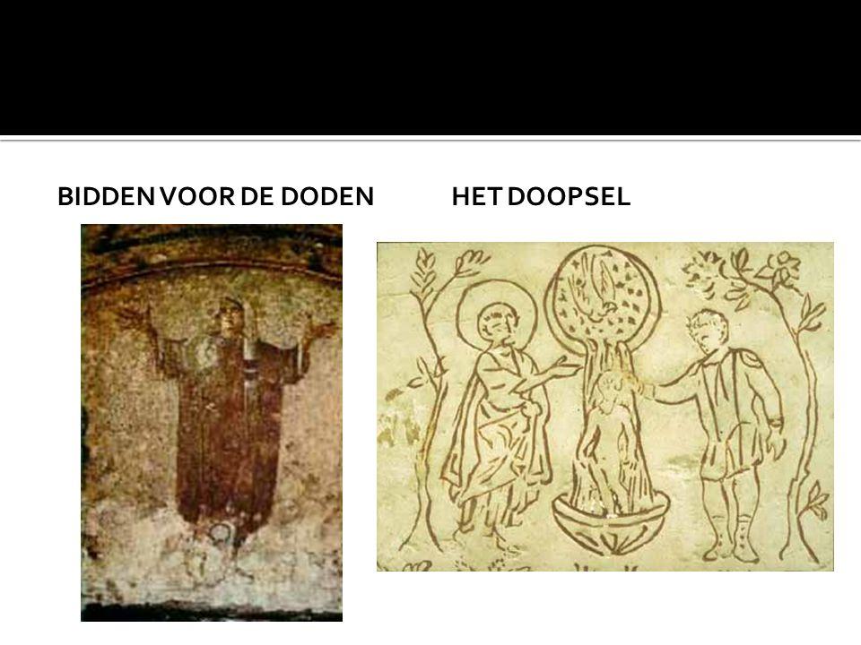BIDDEN VOOR DE DODENHET DOOPSEL