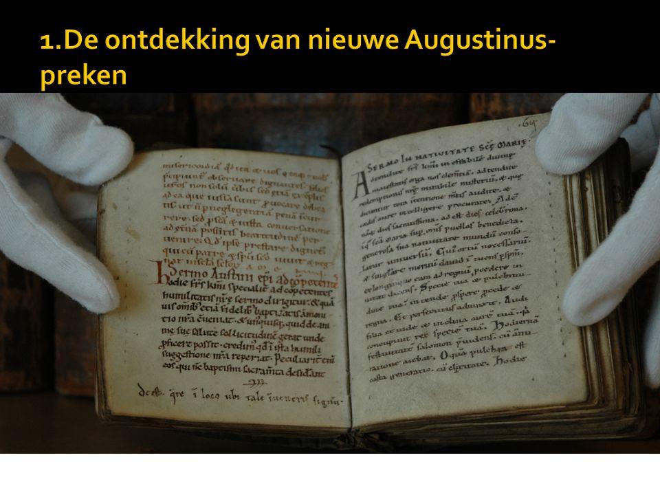  De anima et eius origine  Vincentius Victor's leerstellingen gingen verder dan die van de Pelagianen  Passio van Perpetua en Felicitas kan voor Aug.