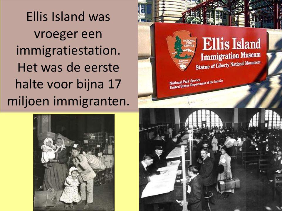 Ellis Island Het Vrijheidsbeeld