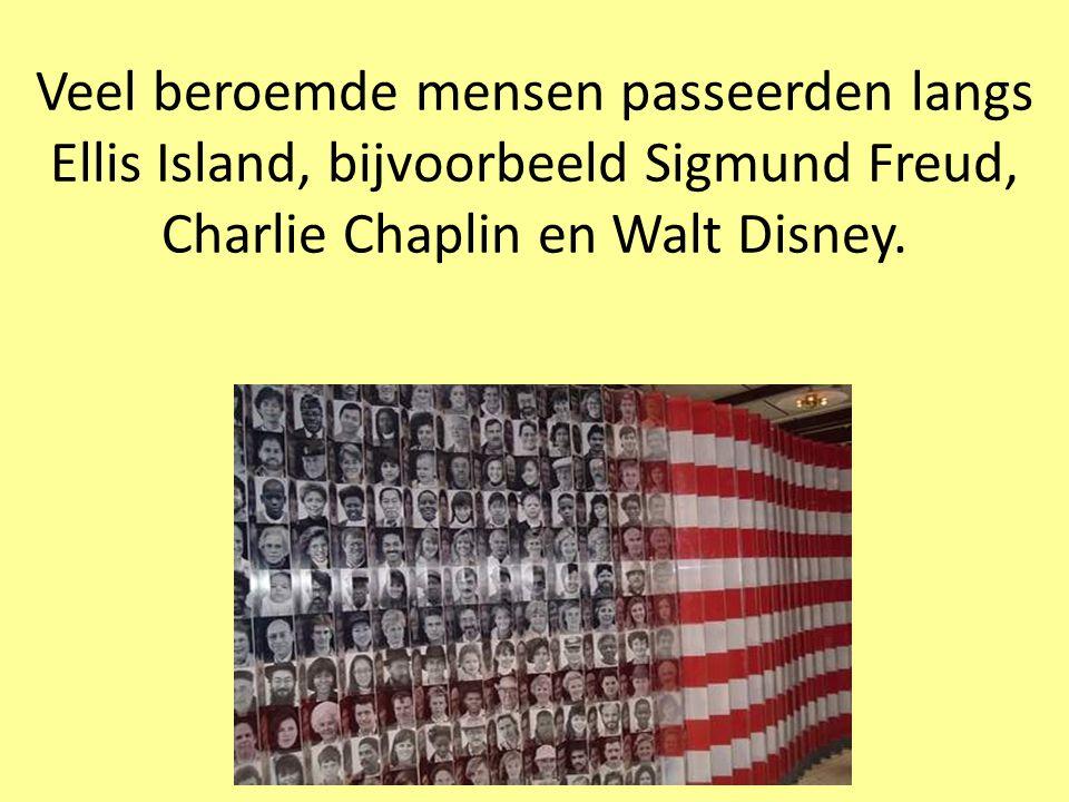 Ellis Island was vroeger een immigratiestation.