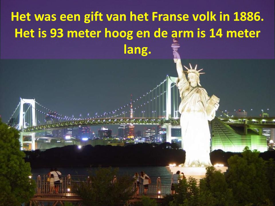 Het Vrijheidsbeeld is het eerste dat veel immigranten te zien krijgen.