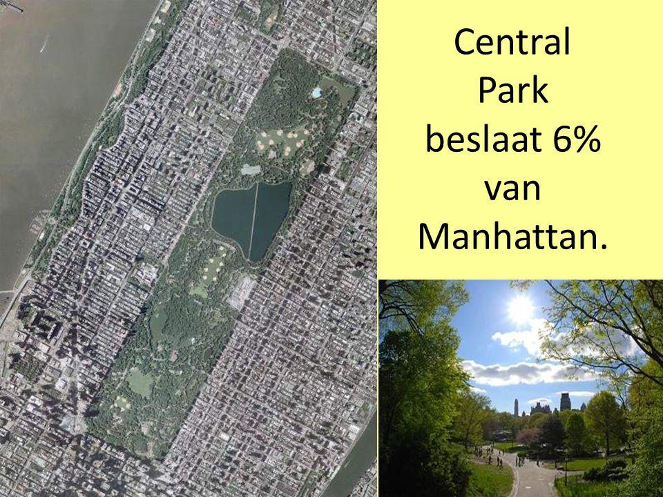 De Brooklyn Bridge verbindt Manhattan met Brooklyn.