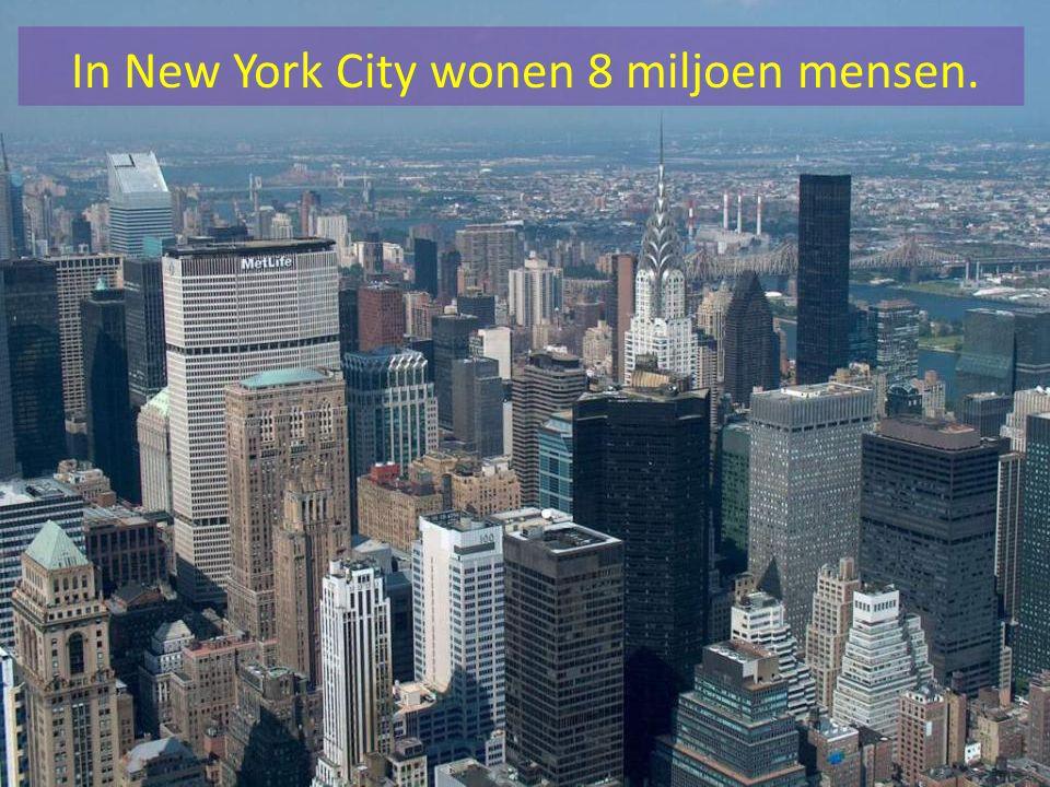 New York wordt de Big Apple genoemd omdat in de jaren 1920 en 1930 jazzmuzikanten zegden dat de stad de beste en aantrekkelijkste plaats was.