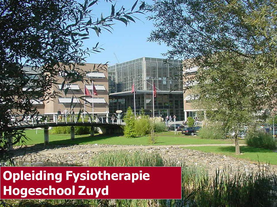 Opleiding Fysiotherapie Hogeschool Zuyd Opleiding Fysiotherapie Hogeschool Zuyd Opleiding Fysiotherapie Hogeschool Zuyd