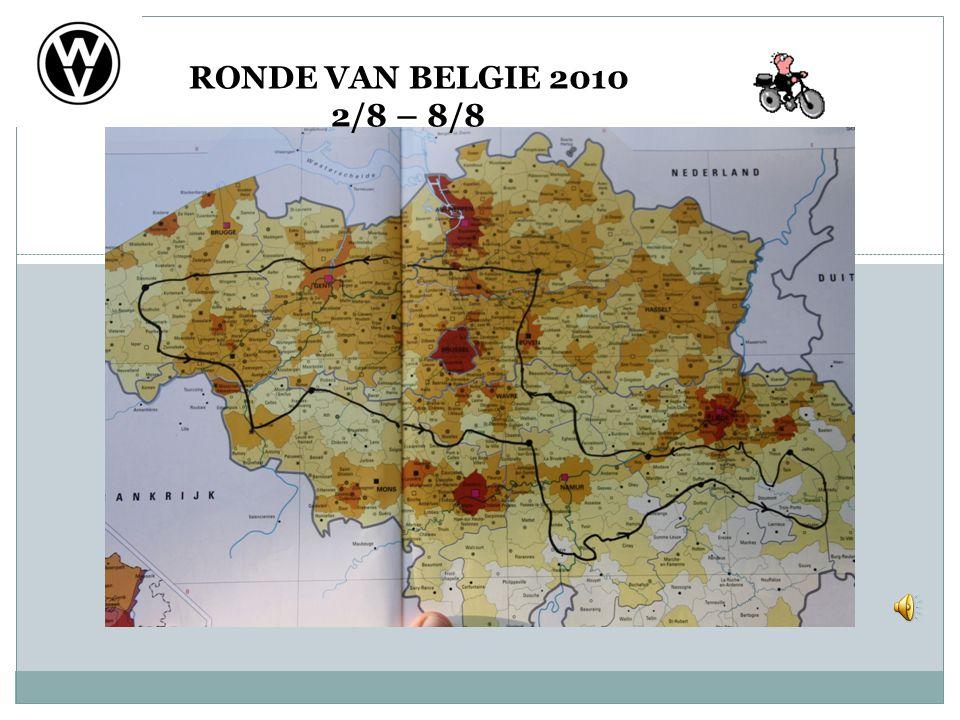 RONDE VAN BELGIE 2010 2/8 – 8/8